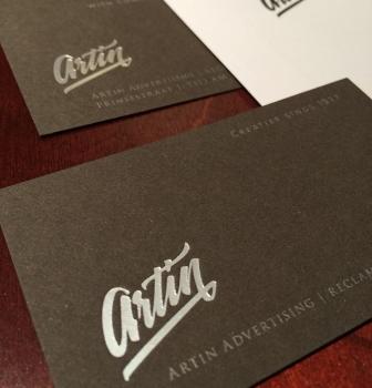 Nieuw logo voor Artin
