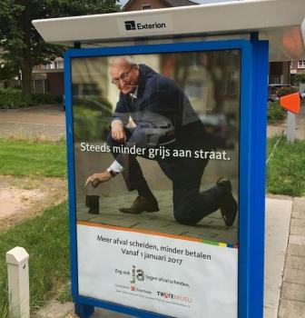 Enschedese wethouder met grijze boodschap