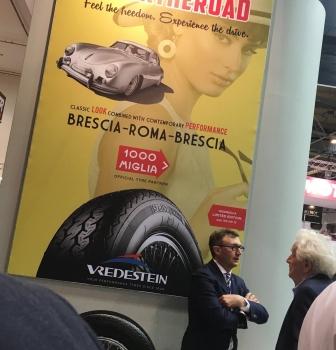Vredestein official tyre partner van de Mille Miglia