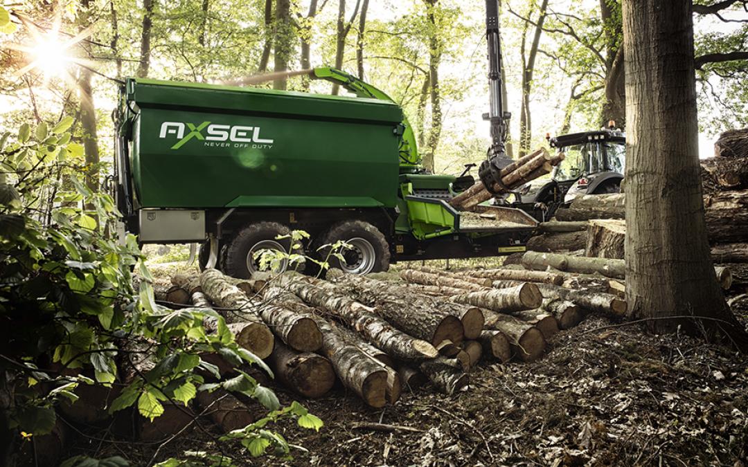 Compleet nieuw concept voor bosbouwmachines