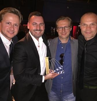 Gold Award in Hamburg voor Vredestein films